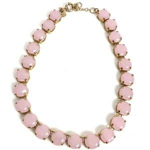 J. Crew Light Pink Gold Statement Choker Necklace